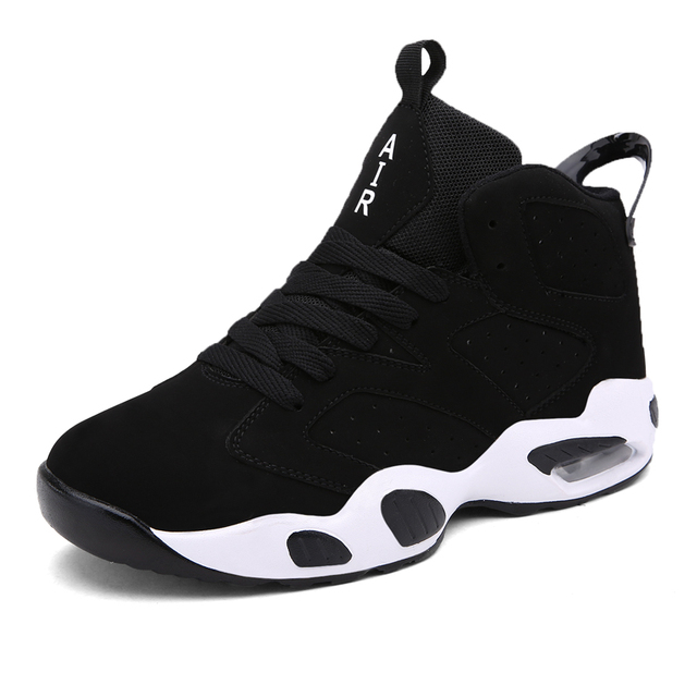 2016 new Basketball Shoes air men women high ankle sport Unisex Lovers  Zapatillas walking basketball boots size 10 11 12 114a686ffc54