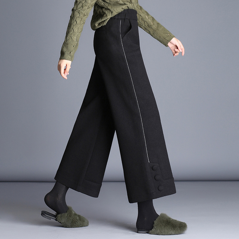 2019 New Summer Womens High Quality Casual Long Pants Fashion Ladies Cotton Pants 802