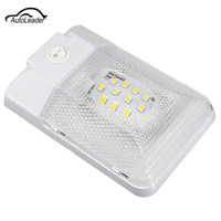 1Pcs Car LED Ceiling Interior Light Lamp Dome Light 5050SMD 24LED Roof Lamp Waterproof