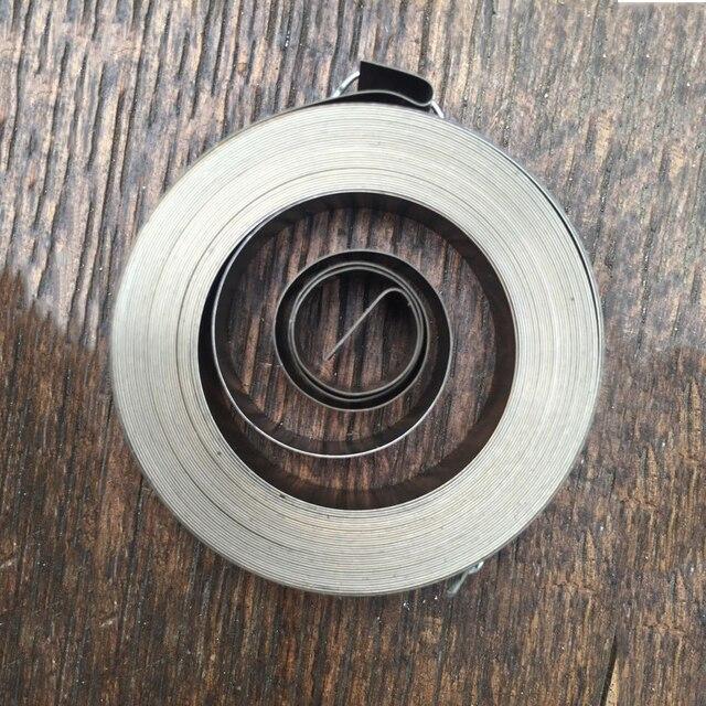 סיטונאי ספירלת שטוח חוט סליל אביב כוח קבוע מעיינות, 0.25*8*5000mm, סוג 27