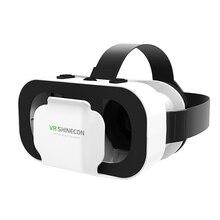Shinecon VR 5.0 Réalité Virtuelle Lunettes 3D respirant Casque Carton Casque Vrbox Immersive De Jeu Vidéos pour 4.7-6.0 'de téléphone