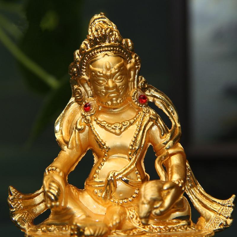 Shakyamuni Resin Buddha Figurine Bodhisattva Delicate  Buddhist Tranic Tibetan
