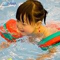 Productos del bebé del anillo del flotador del baño seguro de alta calidad gran flotabilidad 6 tabletas niños natación anillo de la nadada del bebé del anillo del brazo del brazo ejercicio EVA