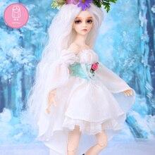 Peruca para boneca bjd frete grátis tamanho 7 8 polegada 1/4 peruca de alta temperatura artesanal cabelo longo bjd sd boneca perucas na beleza