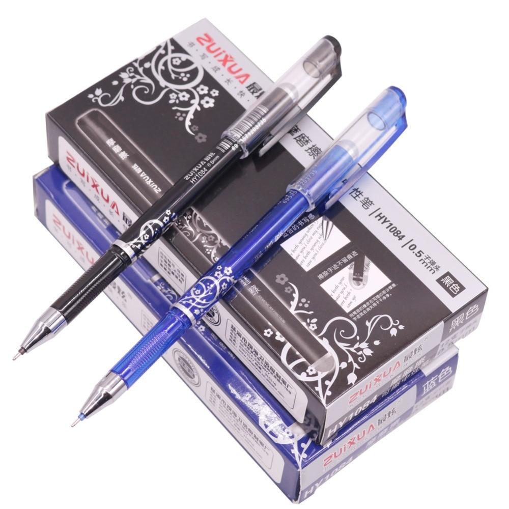 144 pcs Full Needle Nib Gel Pen Magic Erasable Pen Student School Office Writing Pen Promotional