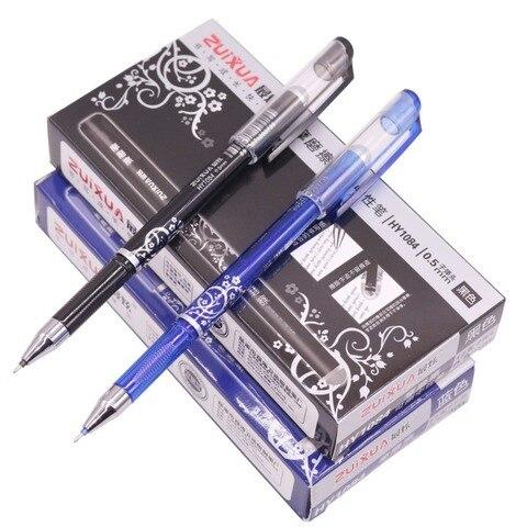 144 pcs agulha completa nib gel caneta magica apagavel caneta estudante escola escritorio caneta caneta