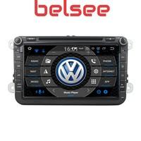 Belsee Android 8.0 Radio Head Unit GPS Octa Core 4GB Nav for VW Volkswagen Polo Passat B5 B6 B7 Golf 5 6 CC Jetta for Skoda Seat