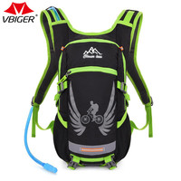 Vbiger Outdoor Hiking Climbing Backpacks Bag Water Resistant Multi Function Travel Sports Backpack With 2L Water