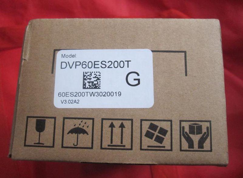 New Original DVP60ES200T Delta PLC ES2 series 100-240VAC 36DI 24DO Transistor output new original delta plc dvp32eh00r2