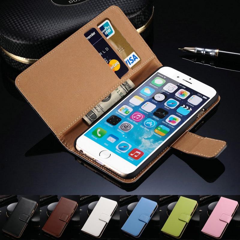 Untuk iPhone 6 Kasus Vintage Balik Dompet Gaya Mewah PU Kulit Kasus - Aksesori dan suku cadang ponsel - Foto 6
