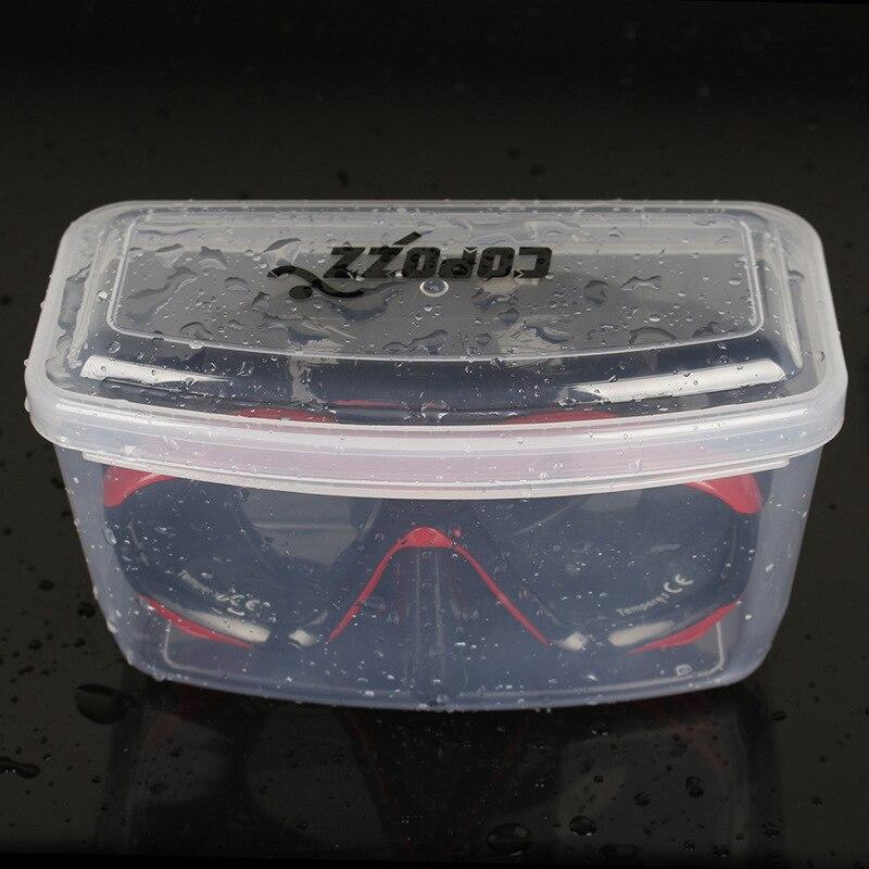 COPOZZ Transparan Kolam Diving Goggles Storage Box PP Kacamata Renang - Olahraga air - Foto 2