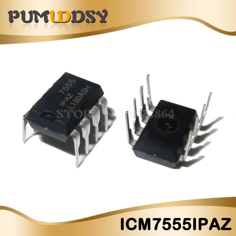 US Stock 10pcs ICM7555IPA ICM7555IPAZ ICM7555 General Purpose Timers New
