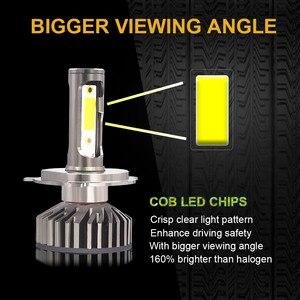Image 3 - YHKOMS Canbus مصباح أمامي LED للسيارات H4 H7 3000K 4300K 6500K 8000K LED لمبة H11 H8 H1 H3 9005 9006 880 881 H27 السيارات الضباب ضوء مصباح