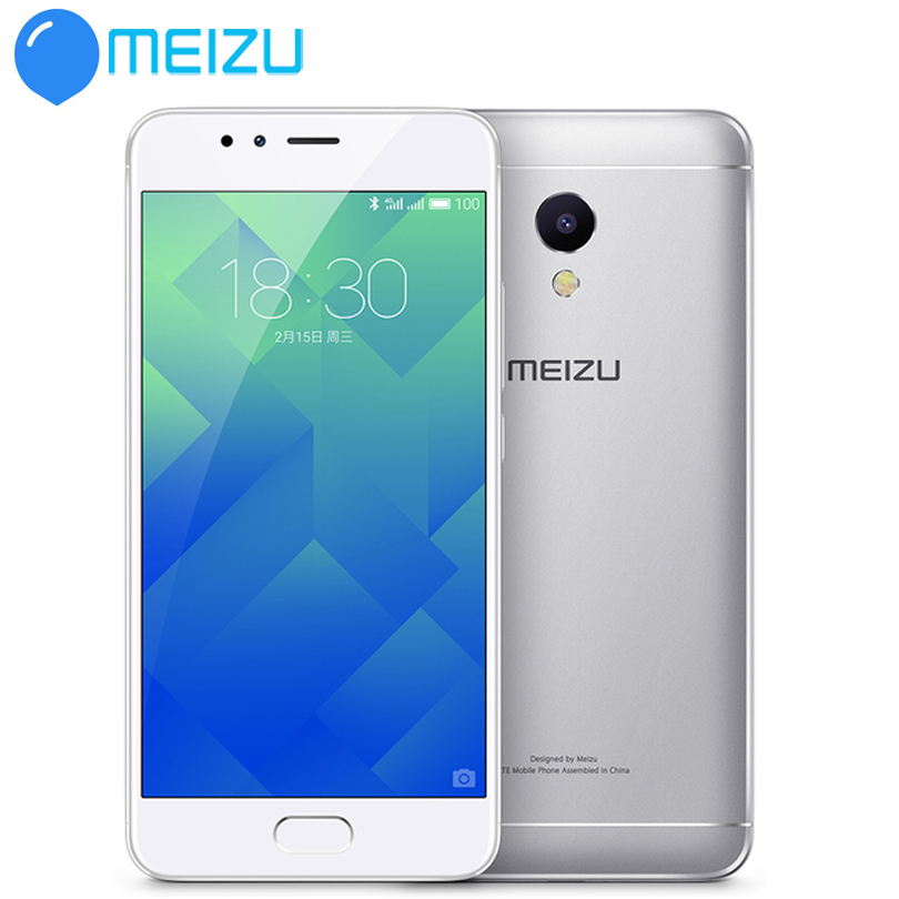 MEIZU M5S MTK6753  Cell Phone 5.2 Inch Octa-core Mobile Phone Fast Charging Metal Body WIFI GPS