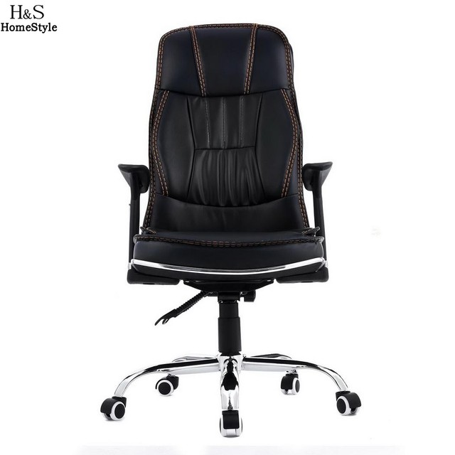 pu leather office chair comfy room chairs homdox chiar ergonomic boss high back with armrests cadeira silla poltrona n30a