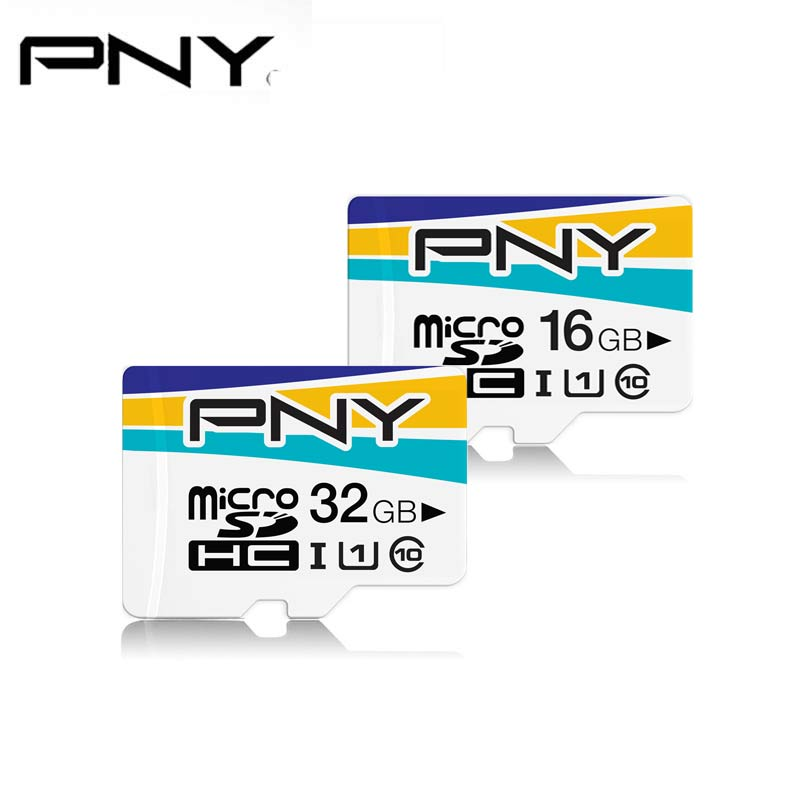 PNY Micro SD 16GB 32GB Memory Card microSDHC Carte Tarjeta micro sd monitoring system card Tachograph Cards Class 10 TF Card-in Micro SD Cards from Computer & Office