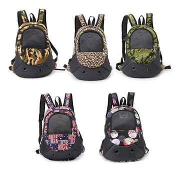 Premium Durable New Comfortable Dog Cat Bag Pet Carrier Outdoor Breathable Camouflage Pet Carrier Backpack