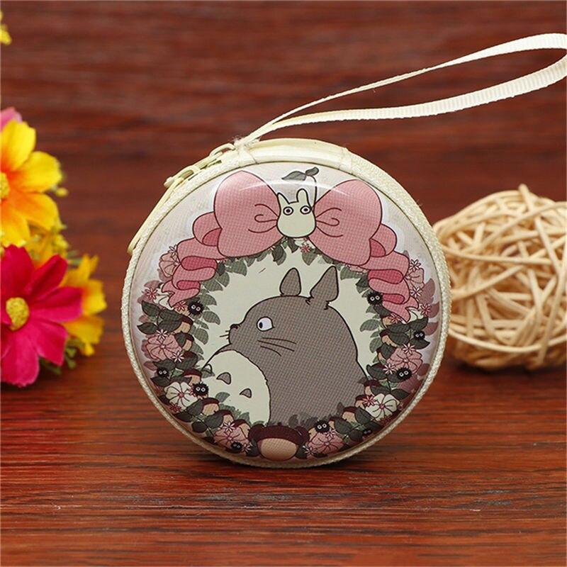 Лидер продаж, кошелек для монет с героями мультфильмов, Эльза, Анна, принцесса, чехол для ключей для девочек, кошелек, детский Снежная королева, гарнитура, сумка для монет - Цвет: Totoro 2