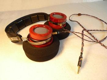 Cherrywood Pluggable headset 50MM driver heavy Bass Midrange Accurate Good treble Vocal Female voice