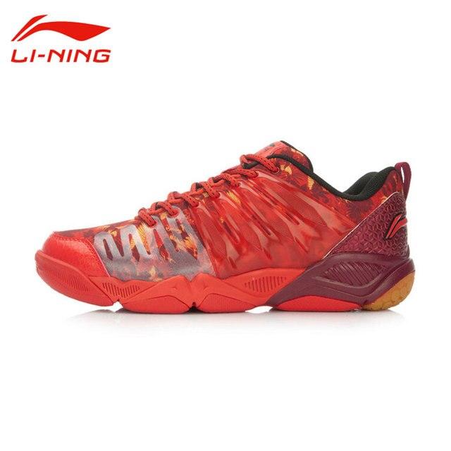 Li-Ning Men's Professional TPU Support Badminton Shoes Multi-Accelerate Sneakers LINING Badminton  Training Sports Shoes AYTL039