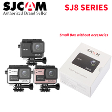 Stock  2018 Original SJCAM SJ8 Pro / SJ8 Plus / SJ8 Air 4K 60 fps WiFi Helmet Extreme Sports Action Camera DV Small Retail Box