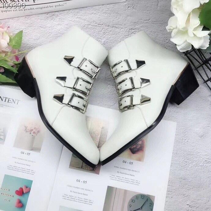 Susanna Chaussures Bout Taille Rond En Femmes 39 Noir Véritable Mouton Bottes Zipper À Cuir De Black white Polyuréthane Med Talons Nappa Bottine rYa0Uqgr