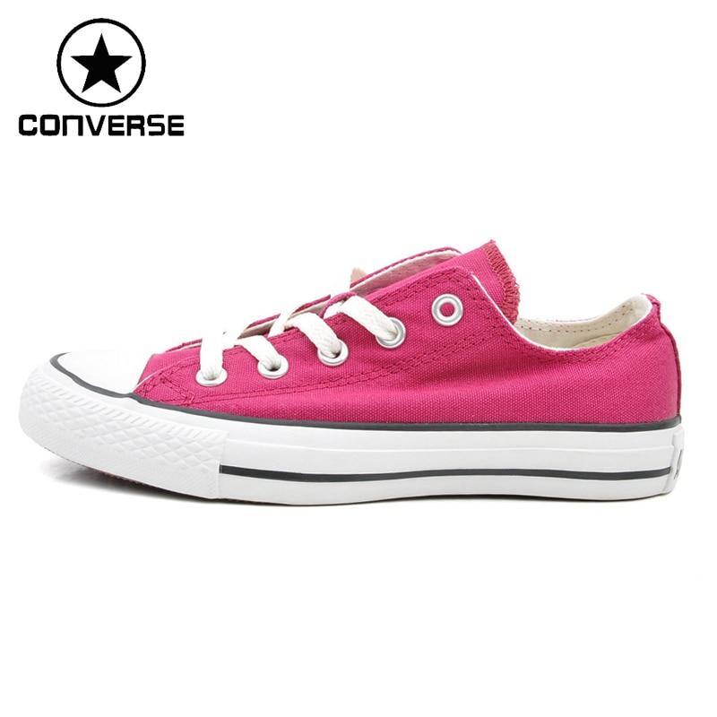 Prix pour D'origine Converse ALL Star Femmes de Planche À Roulettes Chaussures Toile Sneakers