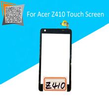 High Quality 4.5″ For Acer Z410 Touch Screen Digitizer Sensors Outer Glass Black Replacement Parts Free Tracking