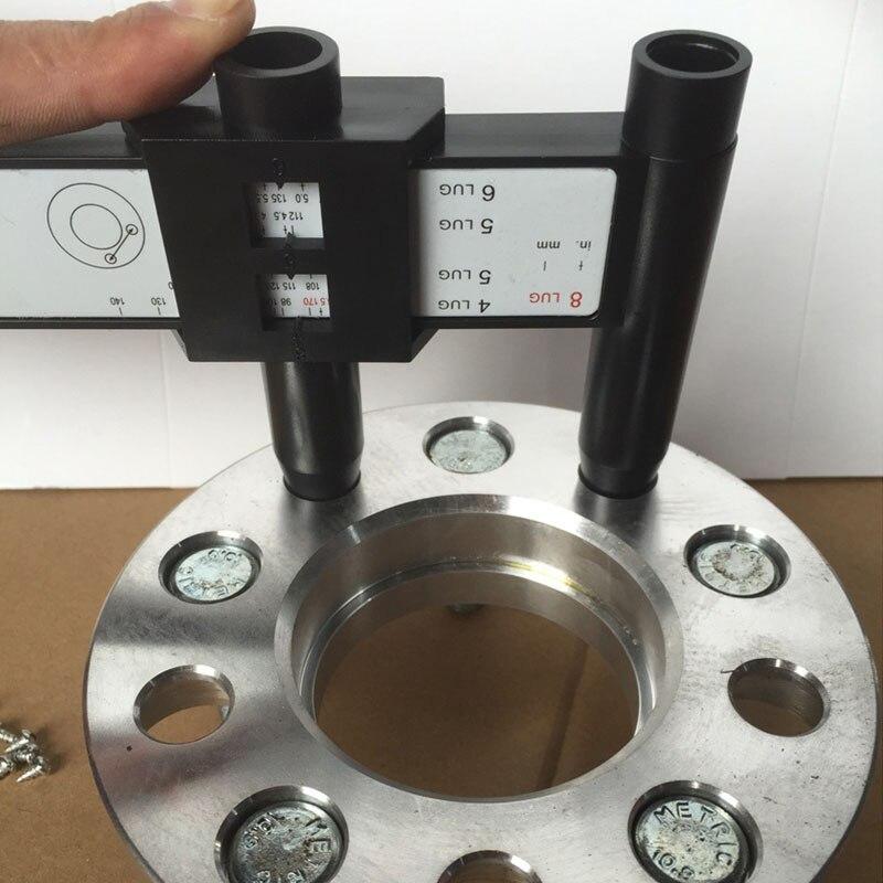 600 600 60 60 Holes Lug Wheel Bolt Pattern Gauge Quick Measuring Beauteous Wheel Bolt Pattern Tool