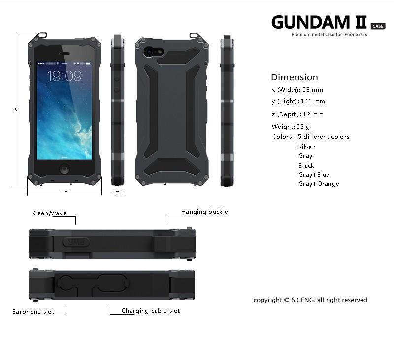 iphone 5s waterproof case (7)
