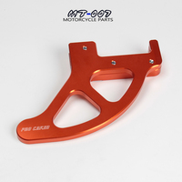 Free Shipping Billet Rear Brake Disc Guard Potector For SX XC XC W EXC 2004 2015