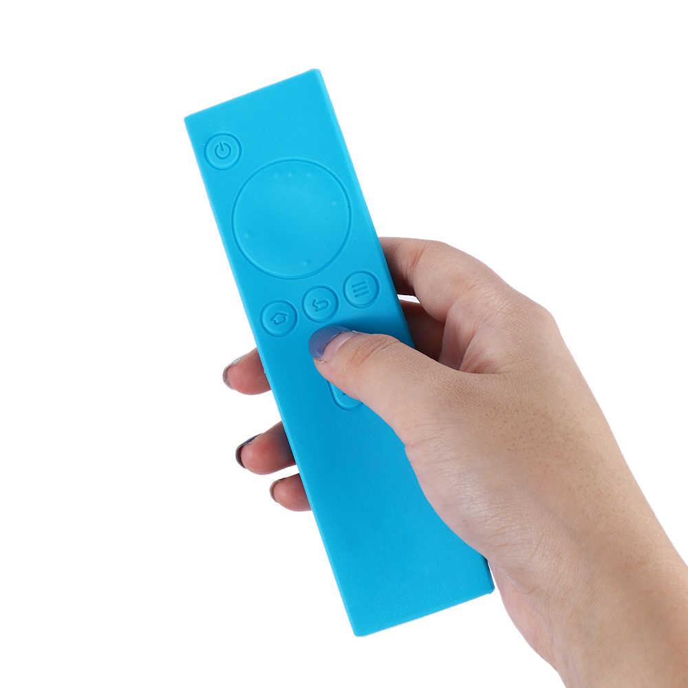 1PC New Soft Silicone Rubber TPU Remote Control Covers Protective Case Anti-Slip Rubber Dust Covers for Xiaomi TV Mi Box