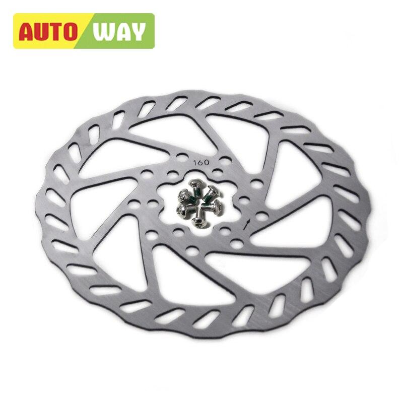 Autoway MTB disk i frenave të rotorit të diskut Diametri G3 160 / 180MM Aksesorë Biciklete Biçikleta TEKTRO 160-7 2PCS S # 082439