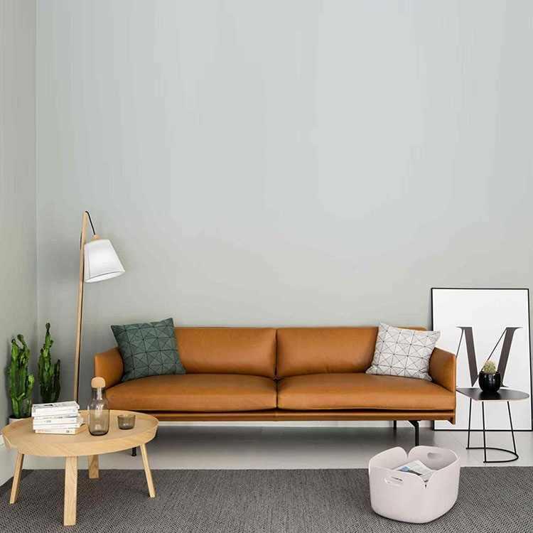 Minimalist Post Modern Leather Sofa