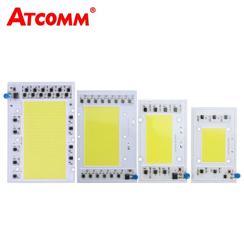 все цены на  Smart IC LED Matrix 30W 50W 100W 150W 220V High Power COB LED Chip Lamp Diode Array For Projector DIY Floodlight Searchlight  онлайн