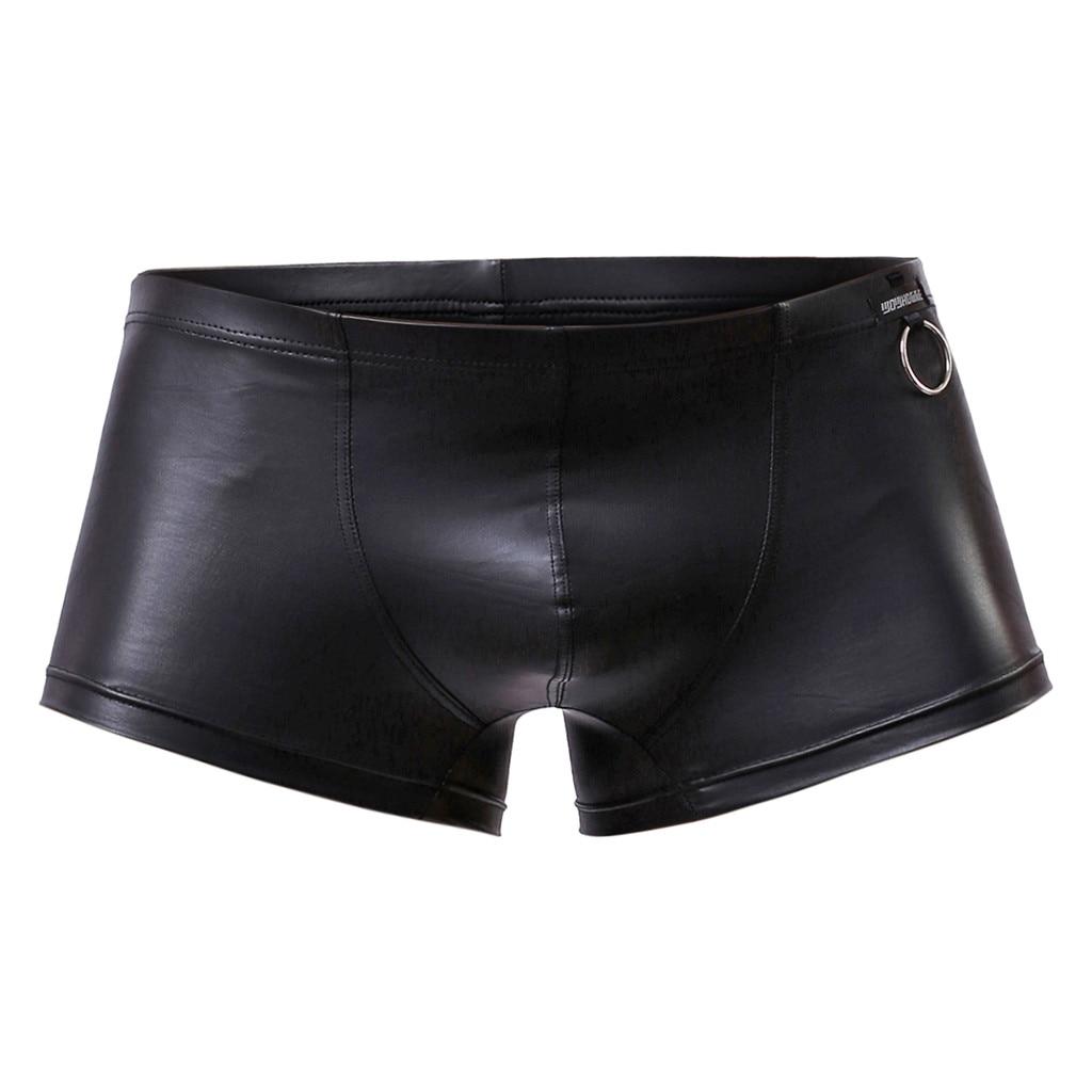 Mens Underwear Boxers Briefs Stretch Heart Convex U Bag Light Weight Casual Breathable Soft Cotton 3XL,Deep Heather