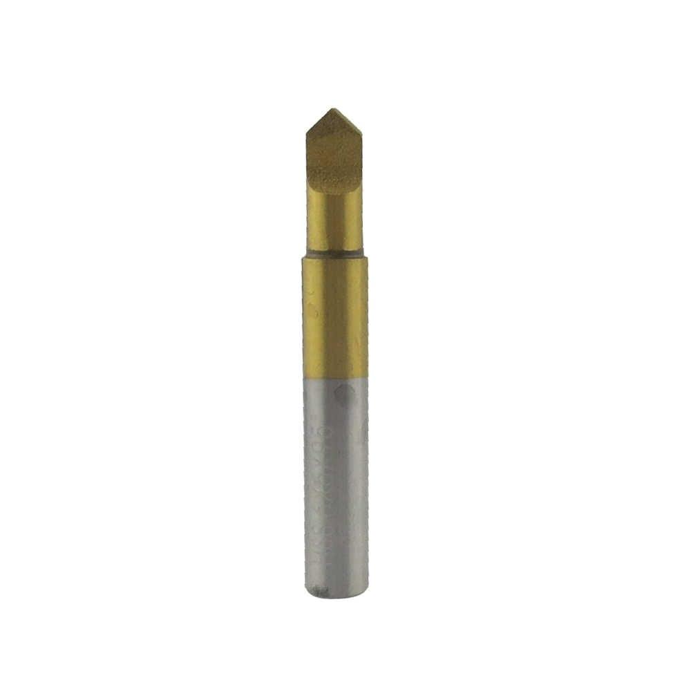 CHKJ 95 stopni pokryte tytanem HSS klucz frez do klucz frezarka maszyna przewodnik Pin płaski nóż wiertła narzędzia ślusarskie akcesoria