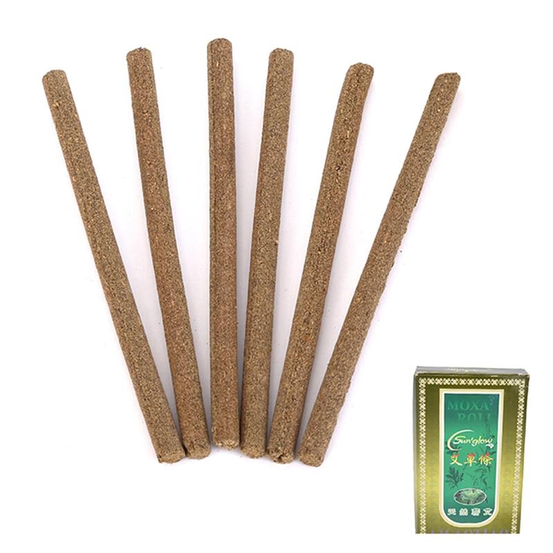 JETTING-30PCS 2017 New Arrive Smokeless Moxa stick Handmade Acupuncture Massage Moxibustion Moxa Wormwood