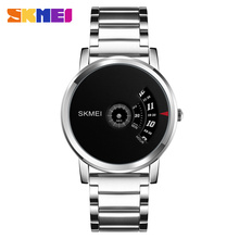SKMEI Men Fashion Quartz Watch Top Brand Luxury Men's Clock Watches Casual Stainless Steel Strap For Male relogio masculino 1260 mens watches top luxury brand sports watch skmei countdown stainless steel strap quartz wristwatch men clock relogio masculino