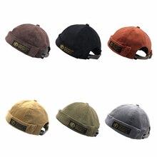 KLV, модная, Harajuku, унисекс, Вельветовая, регулируемая, без полей, мужская, Ретро стиль, Череп, кепка, моряк, кепка, хип-хоп, женская, повседневная, французская шляпа
