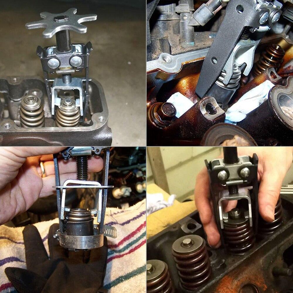 Universal Carbon Steel Engine Overhead Spring Compressor Valve Removal Installer Tool Valve Spring Compressor