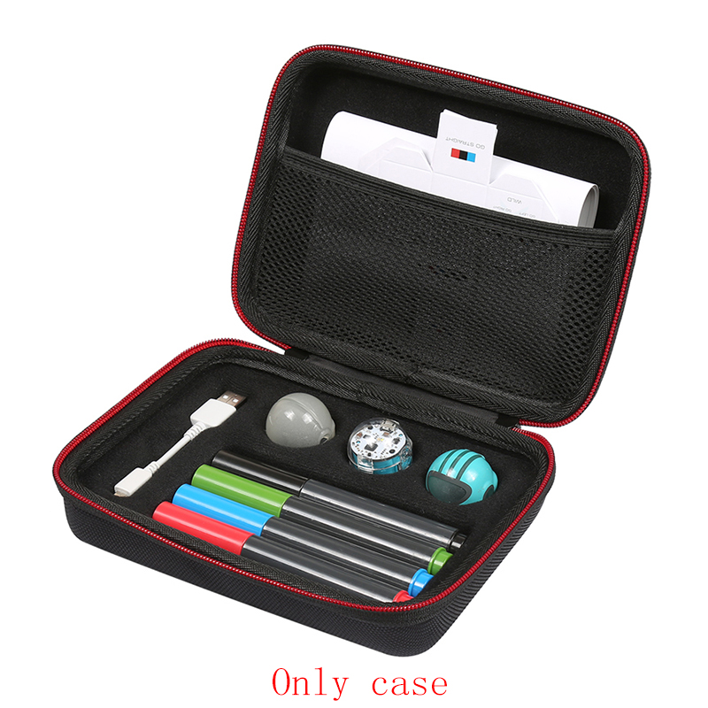 Case For Ozobot Evo App-Connected Coding Robot - Fits USB Charging Cable / Playfield / Skin / 4 Color Code Markers (only Case)