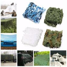 2m*2m Oxford polyester cloth Hunting Military Camouflage Net Army Camo netting Camping Sun Shelter Shade
