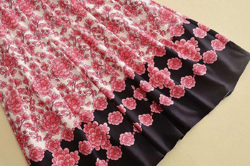Longue Femmes Rouge Dentelle Hiver Floral Christams Cru Parti Ligne 2018 Femelle Imprimé Up Piste Designer Une Vêtements Robe wXx0xg
