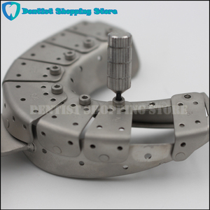 Image 3 - Dental Implant Impression Tray Removing Segments Position of the Abutments
