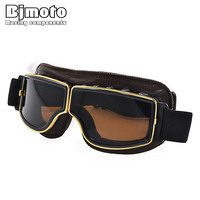 Hot Sale Retro Motorcycle Goggles Harley Style Glasses Oculos Antiparras Gafas Motocross Goggles For Motorcycle Helmet