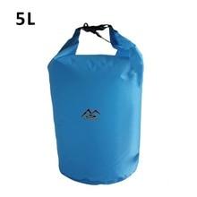 5L/10L/20L/40L/70 Outdoor Dry Waterproof Bag Dry Bag Sack Waterproof Floating Dry Gear Bags For Boating Fishing Rafting Swimming