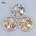 Venta 33mm monedas royale deluxe crystal multi medio loto cuarzo fit 35mm titular de la moneda collar colgante de San Valentín regalo del día