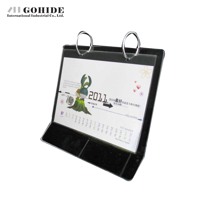 gohide home decoration crystal rectangle calendar frame multicolour photo frame animal design calendar frame lovely presents