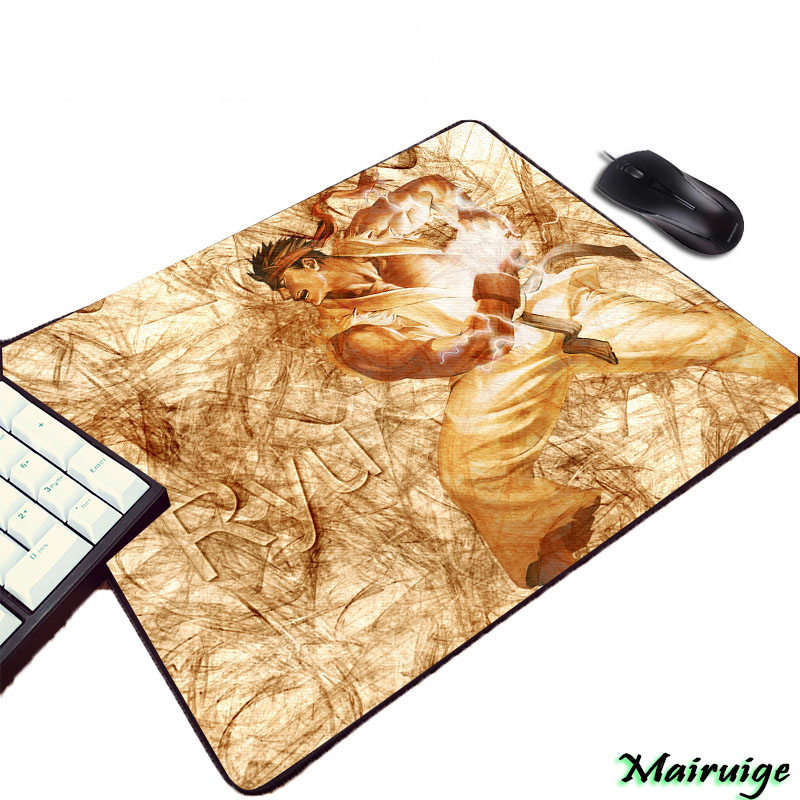 Mairuige Street Fighter Hot Popular Fighting Game Pattern Mousepad CHUN LI Sexy Girls RYU Video Computer Gaming Table Mouse Pad